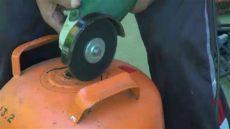 cortar y manipular una bombona de butano peligro - Como Cortar Una Garrafa De Gas Refrigerante