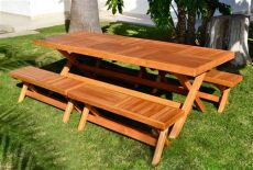 diy collapsible picnic table custom folding rectangular picnic table benches made in u s a duchess outlet