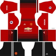 change league soccer 18 dls 18 19 kits logo complete guide - Dls 19 Kit Manchester United