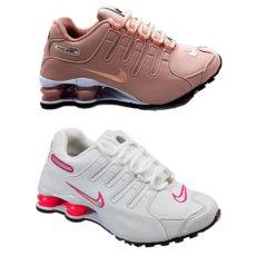 nike shox 2017 feminino t 202 nis feminino nike shox nz preto pink branco pink 2 pares
