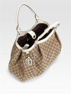 gucci sukey large tote in brown lyst - Foosites White Gucci