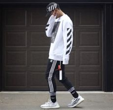 adidas yeezy boost 350 v2 zebra outfit white adidas featuring yeezy boost 350 v2 quot zebra quot sneaker fashion yeezy