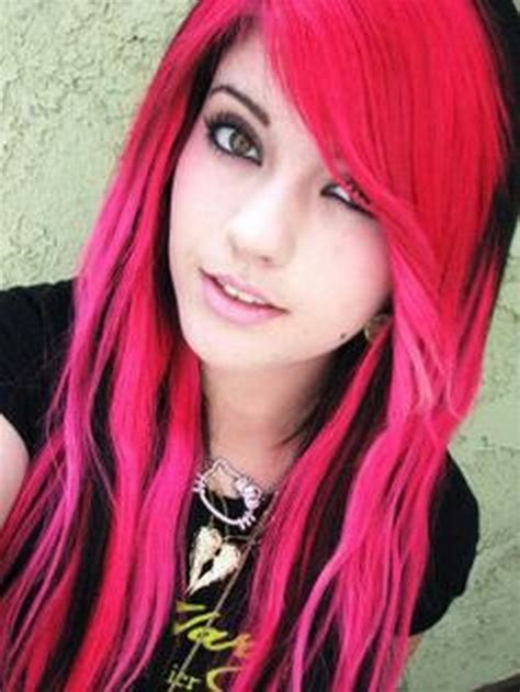 Black And Pink Hairstyles.html