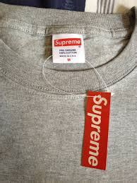 supreme hoodie tags real vs fake knowledge how to tell if your supreme hat is