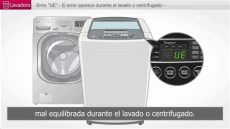 lavadora lg error ed lg lavadora error ue