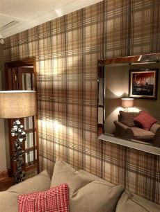mulberry home ancient tartan wallpaper - Mulberry Wallpaper Ancient Tartan
