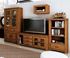 muebles rusticos para tv modular para tv r 250 stico con tres muebles furniture inspiration en 2019 tv furniture home