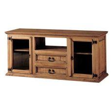c 243 moda televisi 243 n r 250 stica 24221 myoc f 225 brica de muebles r 250 sticos 100 madera maciza - Muebles Rusticos De Tv