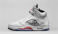 supreme x air 5 quot white quot highsnobiety - Air Jordan 5 Retro Supreme White