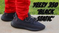 yeezy black static review on - Yeezy Black Friday Red On Feet