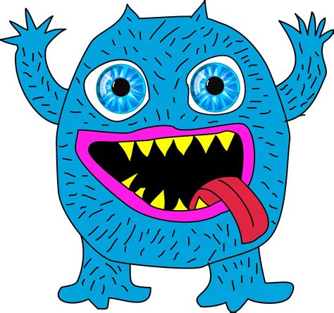 blue monster free stock photo public domain pictures