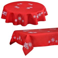 christmas tablecloths uk tablecloth festive pattern fabric room decoration