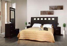 recamara antara chocolate minimalista 5 pzas camas modernas dise 241 o de cama decoracion recamara - Recamaras Matrimoniales Color Chocolate