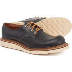 red wing oxford work shoes wing leather work oxford shoes in black for lyst