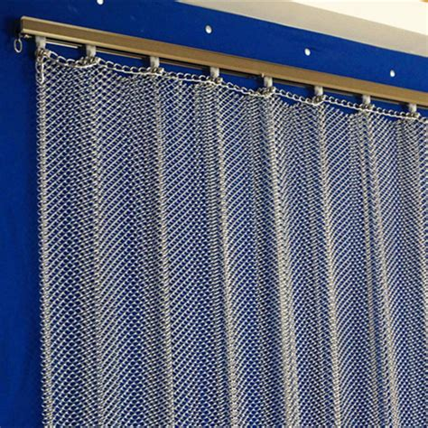 hanging metal wire mesh curtain room divider