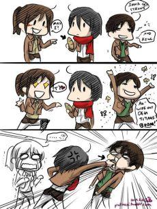 mikasa memes attack on titan amino - Attack On Titan Memes Mikasa