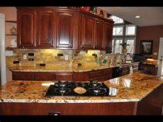 backsplash ideas for granite countertops kitchen - Backsplash Ideas For Kitchens With Granite Countertops And White Cabinets