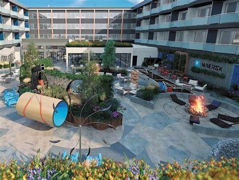 hotel zephyr unveils outdoor lounge yard embracing nostalgia