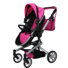 me 2 in 1 deluxe doll stroller 32 high view all photos 9695 blue berry - Mommy And Me Doll Stroller Extra Tall