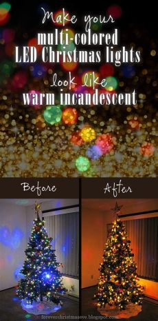 warm colored led christmas lights forever make your multi colored led lights look like warm incandescent