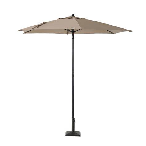 hton bay 11 ft offset patio umbrella solar