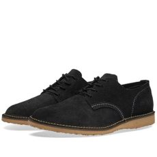 red wing heritage weekender oxford lyst wing 3304 heritage work weekender oxford in black for