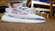 yeezy zebra on feet yeezy zebra v2 unboxing on sizing