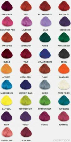 directions farbpalette 2016 directions farbe haarfarben directions haarfarbe und pinke haare