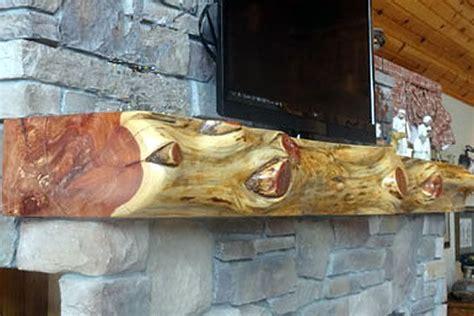 aromatic cedar mantel reclaimed wood mantel cedar wood