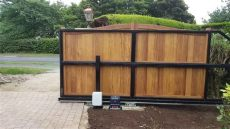 how to build a timber sliding gate cantilever timber steel sliding gate