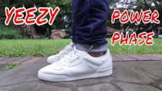 yeezy powerphase calabasas black on feet yeezy powerphase calabasas review on
