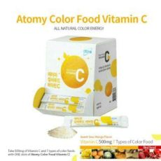 atomy vitamin c halal atomy color food vitamin c 500mg made in korea 7 packets for 7 days shopee singapore