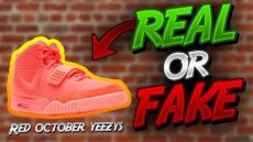 nike air yeezy 2 red october real vs fake real vs nike air yeezy 2 october