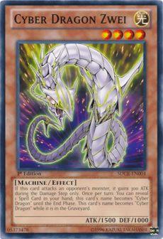 cyber zwei yu gi oh - Cyber Dragon Zwei