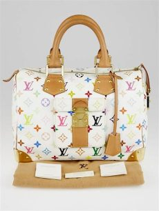 louis vuitton multicolor bags for sale louis vuitton white monogram multicolor speedy 30 bag yoogi s closet