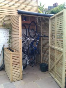 diy bike storage shed active travel week hunt the shed brightonmums