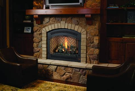 Rustic Gas Fireplaces