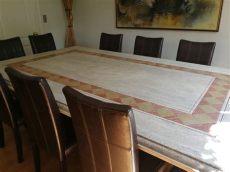 comedor de marmol 10 sillas mesa comedor cubierta marmol con 10 sillas de regalo 1 650 000 en mercado libre