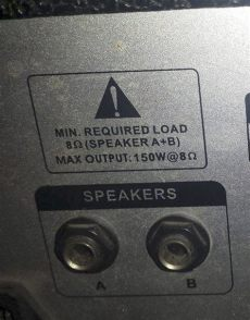 191 cuantos watts y a cuantos ohms da por salida mi consola yoreparo - Como Saber De Cuantos Ohms Es Mi Lificador