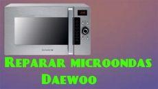 microondas no funciona microondas daewoo no funciona y sus componentes