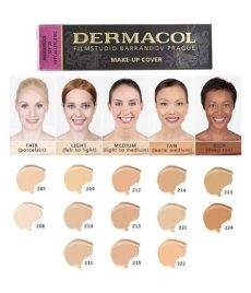 dermacol make up cover foundation 30g shade 208 buy dermacol make up cover foundation 30g - Dermacol Foundation Shades For Indian Skin