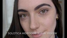 solotica hidrocor avela kullananlar solotica hidrocor avela review unboxing from parana lentes