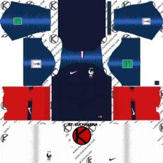 2018 world cup kit league soccer kits kuchalana - France Kit 201819 Dls