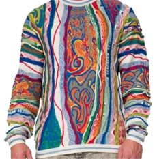 biggie smalls coogi sweater replica coogi biggie smalls multi color sweater tradesy