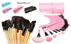 set de brochas para maquillaje walmart set de 32 brochas y pinceles para maquillaje profesional