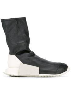 rick owens x adidas sock sneakers in black lyst - Rick Owens X Adidas Sock