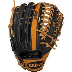 cheap outfield gloves closeout wilson a2k baseball glove 12 75 quot outfield wta2k0bb3ot6