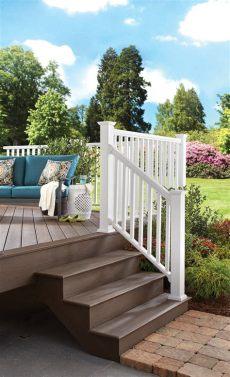 veranda railing kits rail kits veranda composite railing