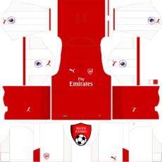 arsenal kits 2017 2018 - Dls 18 Kit Arsenal