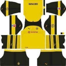kit dls borussia dortmund 2019 kits borussia dortmund league soccer 2019 dls mejoress
